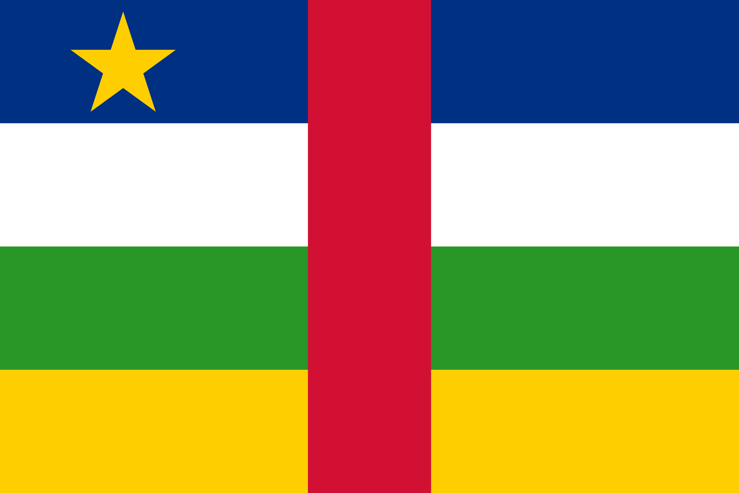 flag of central african republic 1